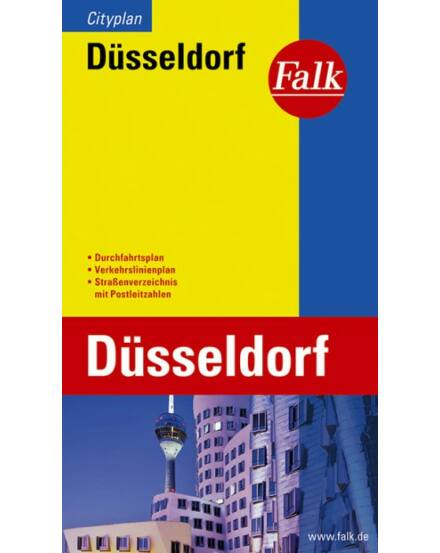 Cartographia  - Düsseldorf zseb várostérkép (Cityplan)