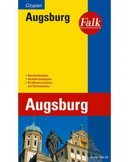 Cartographia  - Augsburg zseb várostérkép (Cityplan)
