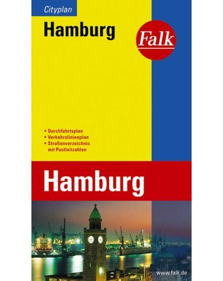Cartographia  - Hamburg zseb várostérkép (Cityplan)