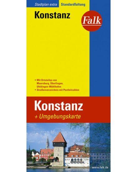 Cartographia  - Konstanz várostérkép (Extra) Falk