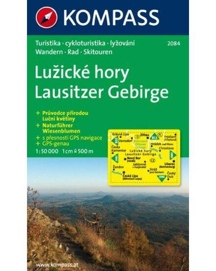 Cartographia  - K 2084 Lausitzer Gebirge turistatérkép