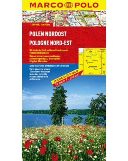 Cartographia  - Északkelet-Lengyelország térkép
