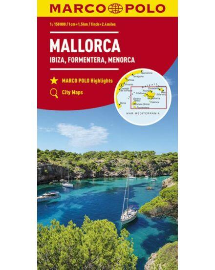 Cartographia  - Mallorca, Ibiza, Formentera, Menorca térkép