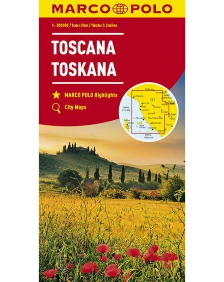 Cartographia  - Olaszország résztérkép -  Toszkána