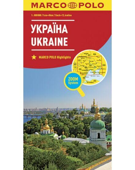 Cartographia  - Ukrajna térkép (Marco Polo)