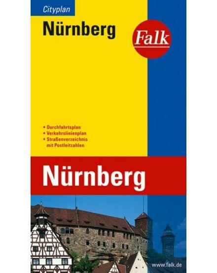 Cartographia  - Nürnberg zseb várostérkép (Cityplan)