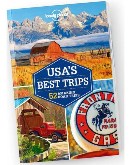 Cartographia  - USA Nemzeti Parkjai Discover útikönyv Lonely Planet
