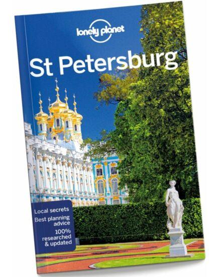 Cartographia  - Szentpétervár útikönyv (angol) Lonely Planet