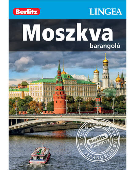 Cartographia  - Moszkva barangoló útikönyv (Berlitz) Lingea