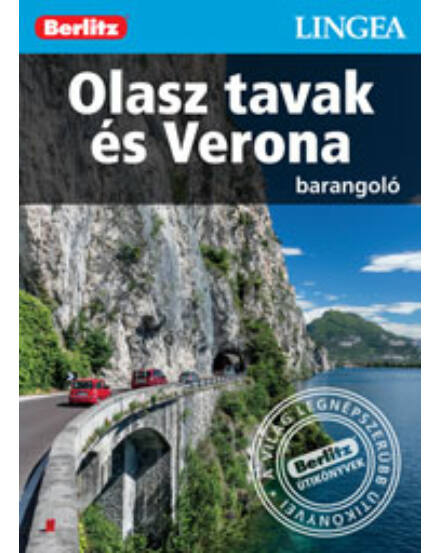 Cartographia  - Olasz tavak és Verona barangoló útikönyv (Berlitz) Lingea