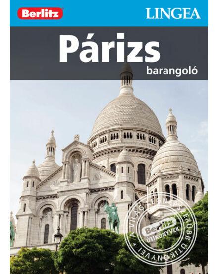 Cartographia  - Párizs barangoló útikönyv (Berlitz) Lingea