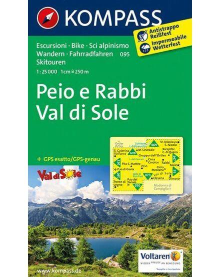 Cartographia  - Peio e Rabbi - Val di Sole turistatérkép