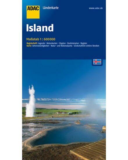 Cartographia  - Izland térkép