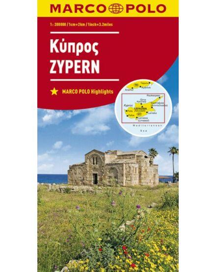 Cartographia  - Ciprus térkép