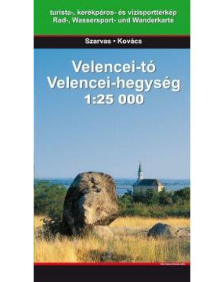 Cartographia  - Velencei-tó, Velencei-hegység turistatérkép (Szarvas)