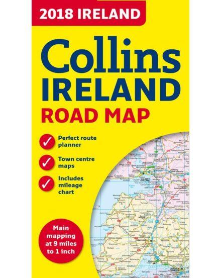 Cartographia  - Írország Road Map térkép