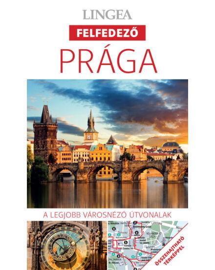 Cartographia  - Prága felfedező útikönyv térképpel Lingea