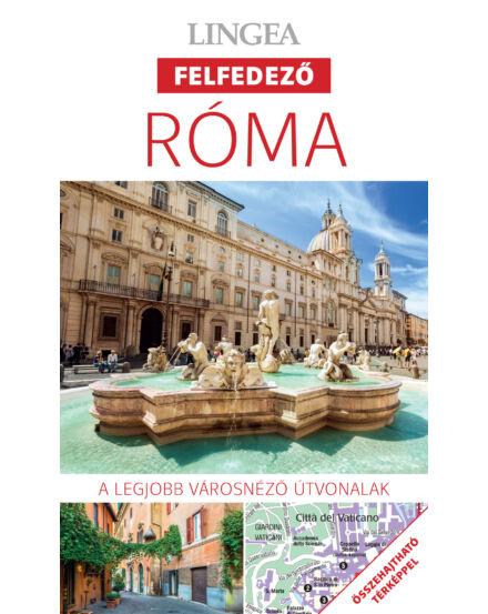 Cartographia  - Róma felfedező útikönyv térképpel