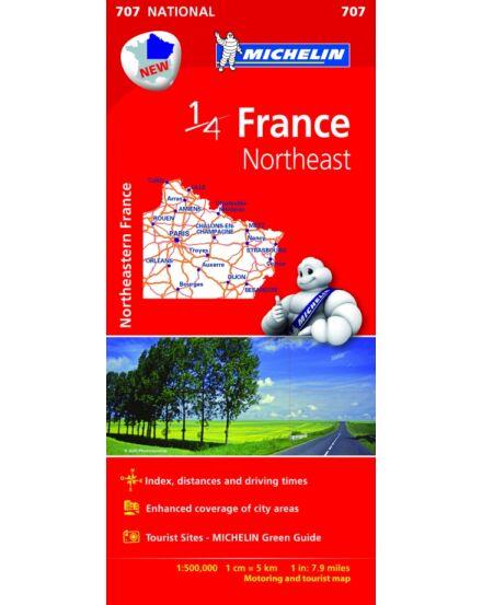 Cartographia  - Franciaország - Észak-Kelet térkép (707)