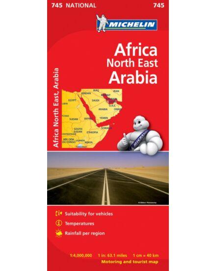 Cartographia  - Afrika Észak-Kelet és Arábia térkép (745)
