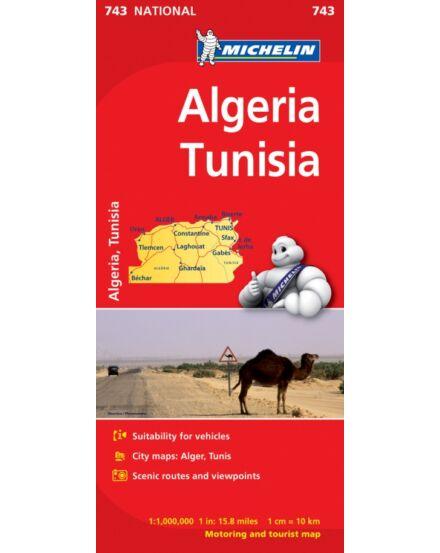 Cartographia  - Algéria, Tunézia térkép (743)