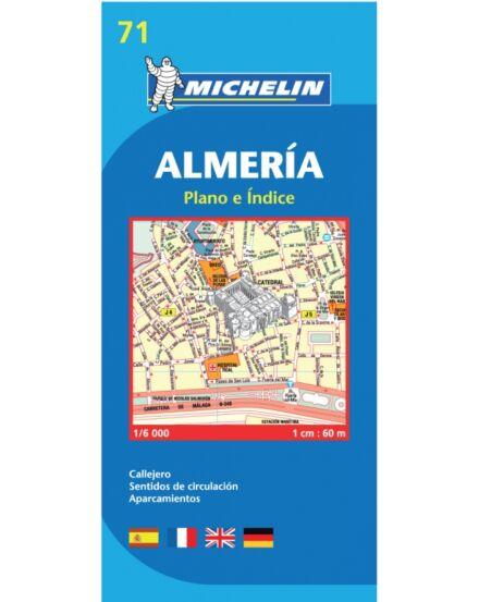 Cartographia  - Almeria várostérkép 71