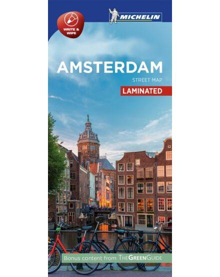 Cartographia  - Amszterdam várostérkép (laminált)