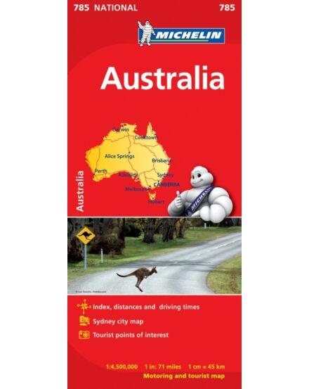 Cartographia  - Ausztrália térkép 0785 Michelin