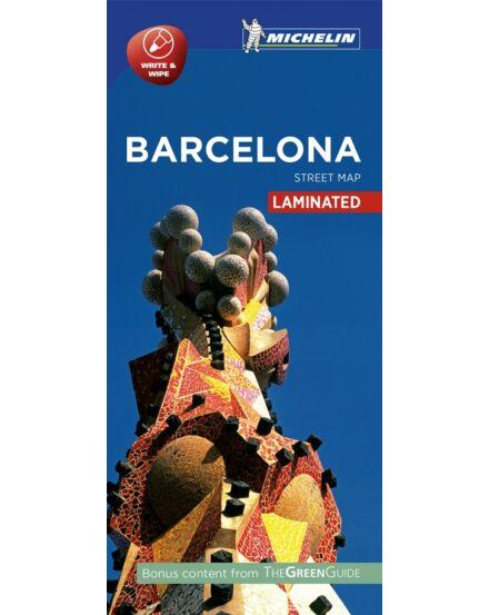 Cartographia  - Barcelona  várostérkép (laminált)