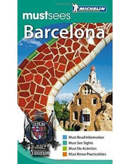 Cartographia  - Barcelona (must sees) útikönyv (angol)