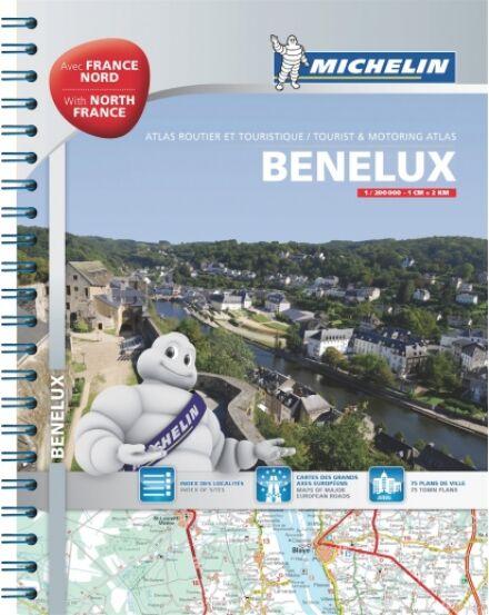 Cartographia  - Benelux államok és Észak-Franciaország atlasz