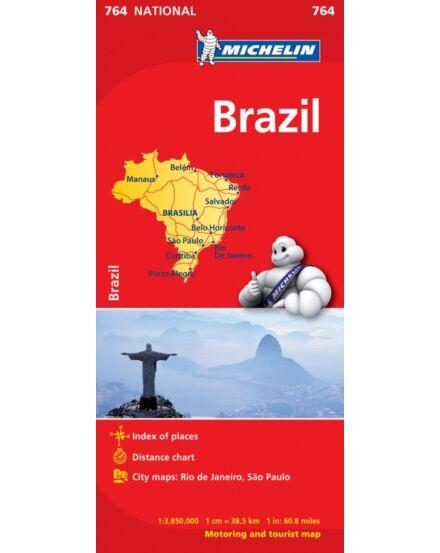 Cartographia  - Brazília térkép 0764 Michelin