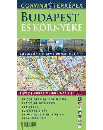 Cartographia  - Budapest és környéke térkép