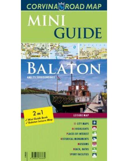 Cartographia  - Balaton mini Guide térképpel (angol)