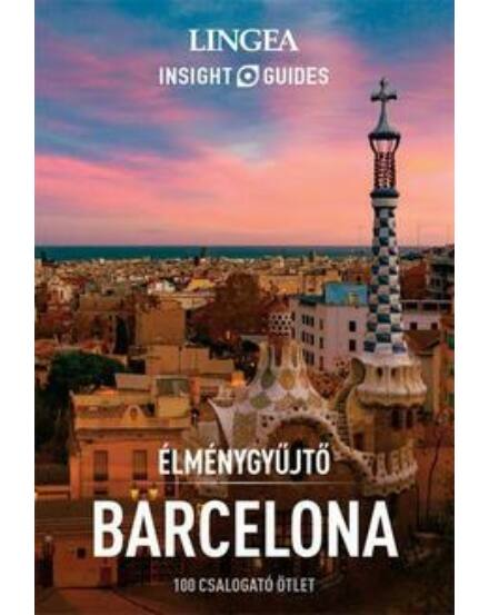 Cartographia  - Barcelona  élménygyűjtő útikönyv