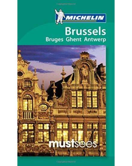 Cartographia  - Brüsszel, Genf, Antwerpen és Bruges útikönyv (angol)