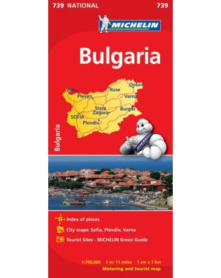 Cartographia  - Bulgária térkép (739)