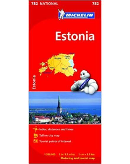 Cartographia  - Észtország térkép 0782