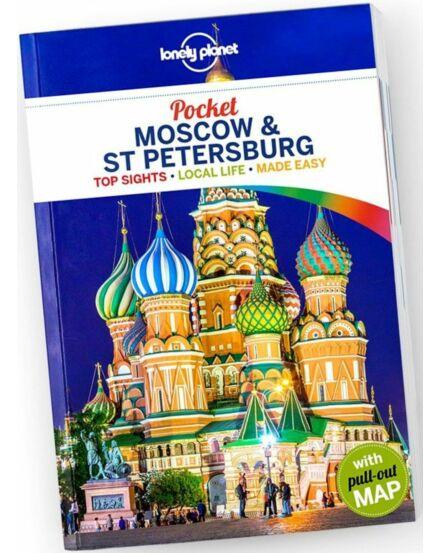 Cartographia  - Moszkva & Szentpétervár Pocket útikönyv 2018 Lonely