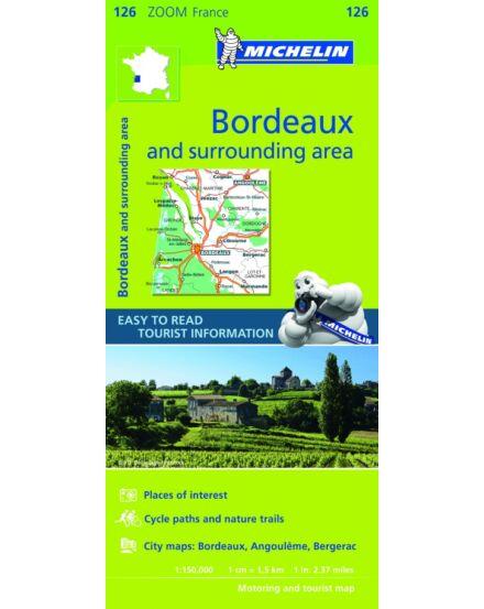 Cartographia  - Francia Zoom - Bordeaux és körny. tkp.0126