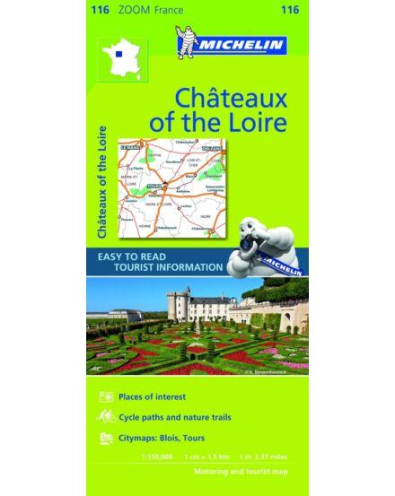 Cartographia  - Francia Zoom - Loire-völgyi kastélyok tkp. (Chateaux) 1116