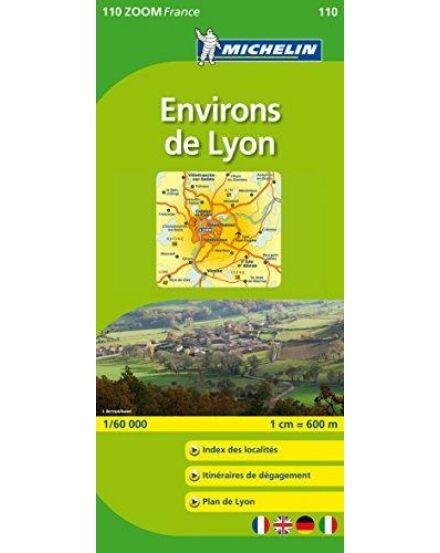 Cartographia  - Francia Zoom - Lyon körny. tkp.0110