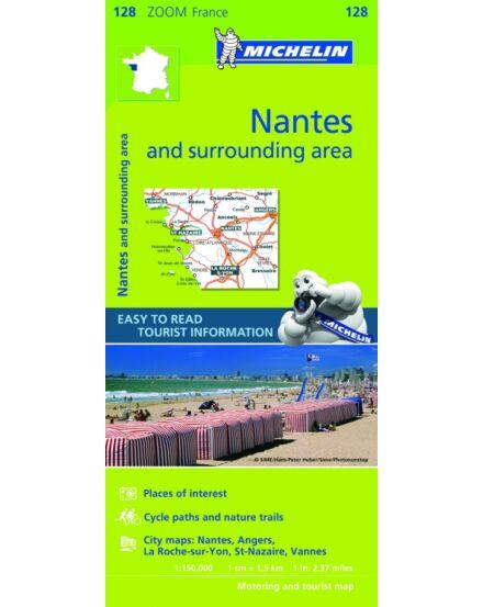 Cartographia  - Francia Zoom - Nantes és körny. tkp.0128