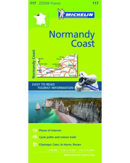 Cartographia  - Francia Zoom - Normandiai part térkép Zoom 1117
