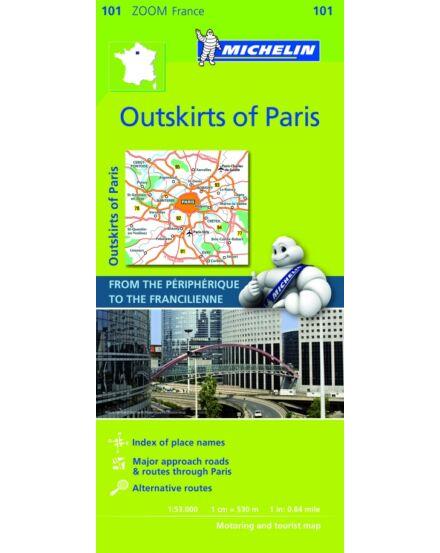 Cartographia  - Francia Zoom - Párizs 50 km-es környéke 0101