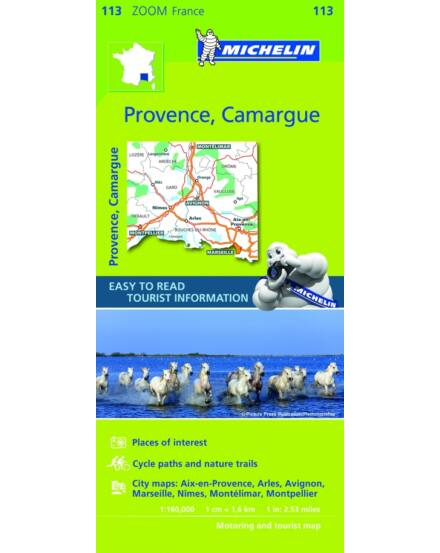 Cartographia  - Francia Zoom - Provance, Camargue, Avignon tkp.1113
