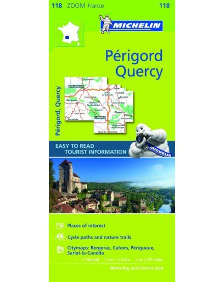 Cartographia  - Francia Zoom - Quercy Perigord térkép 1118