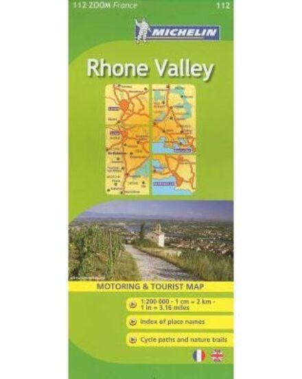 Cartographia  - Francia Zoom - Rhone-völgy térkép 1112