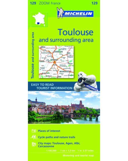 Cartographia  - Francia Zoom - Toulouse és körny. tkp.0129