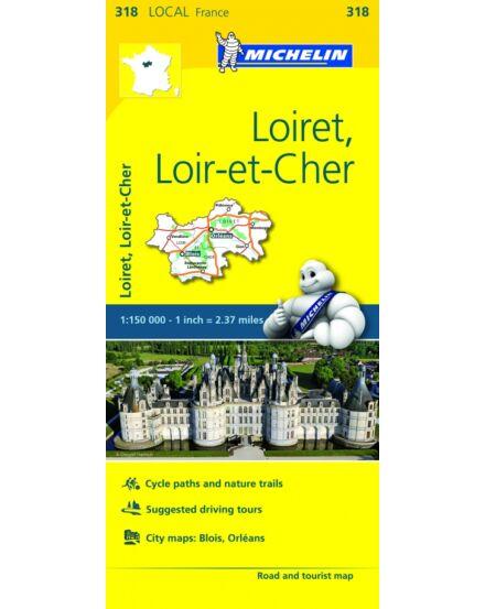 Cartographia  - Franciao. résztkp -  Loiret / Loir-et-Cher 0318